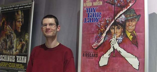 Plakatausstellung im Cinestar in der Kulturbrauerei